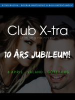 Club Xtra 10års jubileum